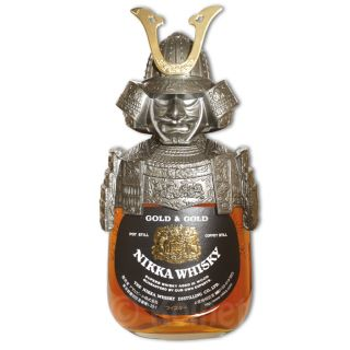 Nikka Gold & Gold Samurai Edition Blended Whisky 0,7L 43%
