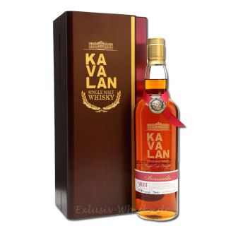 KAVALAN Solist Manzanilla Sherry Cask Single Malt 0,7L 57,8%