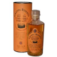 Sibona Grappa Aged in Whiskey Wood 0,5L  40%
