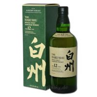 Hakushu 12 Jahre Single Malt 0,7L 43%